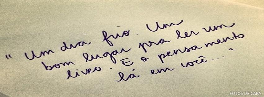 Fotos De Capa Para Facebook Frases Diário De Bordo Da Shao