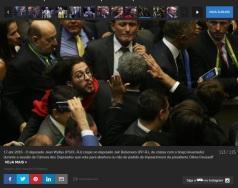 Jean Willys Cospe em Bolsonaro