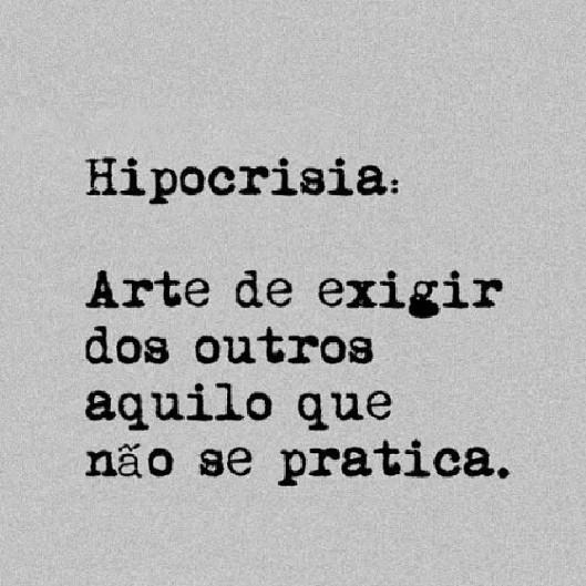 define-hipocrisia