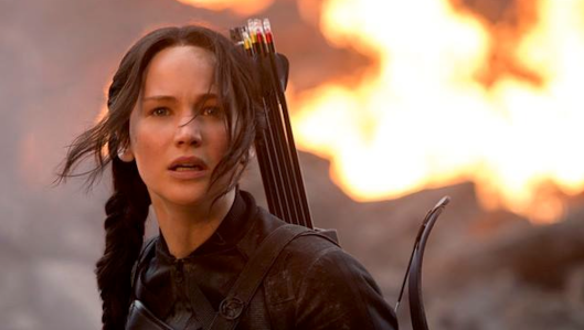 Image result for katniss everdeen shooting