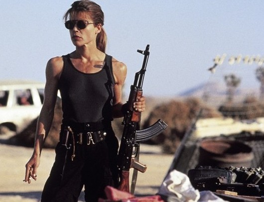 Image result for linda hamilton sarah connor