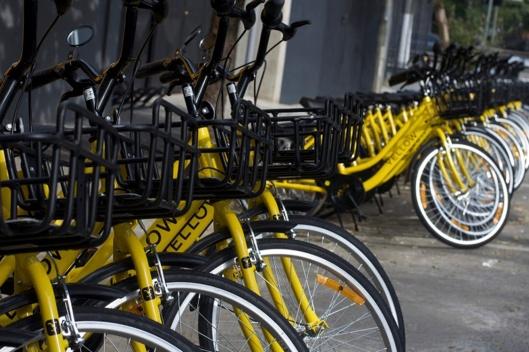 bikes yellow